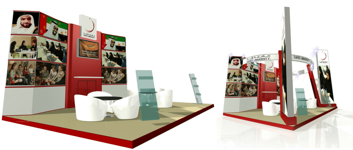 Exhibition Stand Design And Build Dubai : How to choose the best exhibition stand design from your